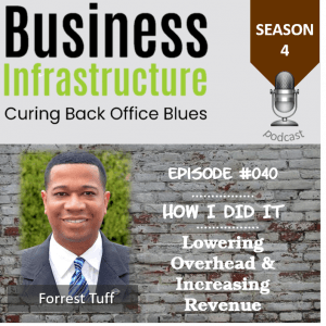 Episode 40: Lowering Overhead and Increasing Revenue with Forrest Tuff
