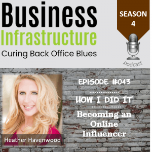 Episode 43: Becoming an Online Influencer with Heather Havenwood