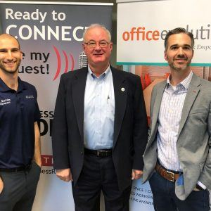Office Evolution Radio: Todd Weeks with Traction Focused, David Doerrier with Present Your Way to Success and Dr. Benjamin Colten with Back to Balance Wellness Center