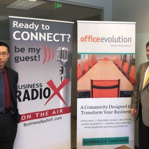 Office Evolution Radio: John Herbert with Herbert Legal Group and Anthony Chen with Lighthouse Financial Network