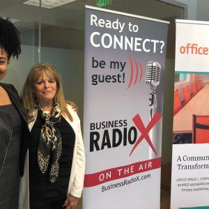 Office Evolution Radio: Nancy Hoehn with Alpharetta Chamber of Commerce and Marjorie Gibson with Community Social Integration
