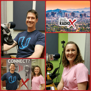 Vincent Serpico and Jennifer Columbe of SerpicoDEV on Valley Business RadioX in Phoenix, AZ