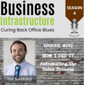 Episode 42: Automating the Sales Process with Tim Bornholdt