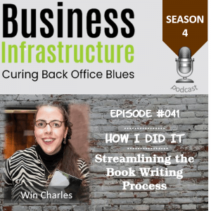Episode 41: Streamlining the Book Writing Process with Win Charles