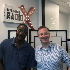 Richard Lorenc with Foundation for Economic Education and Harold Alexander with Underground App