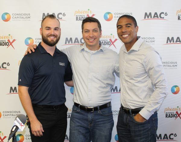 ARIZONA GOOD BUSINESS Evan Norris with Credit Union West and Eric Bailey with Bailey Strategic Innovation Group