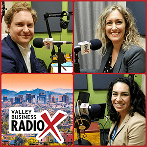 Economic Development is on the agenda at Valley Business RadioX in Phoenix, Arizona