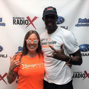 Abdul Fox with Orangetheory Fitness & RedLine Athletics