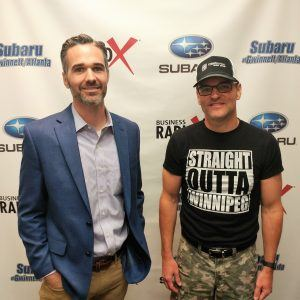 Todd Weeks with Traction Focused and Ryan Burton with the Ryan Burton Music Group