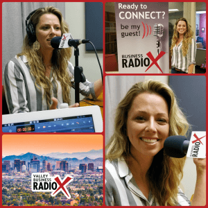 Shaina Weisinger with Repurpose House visits Valley Business RadioX in Phoenix, Arizona