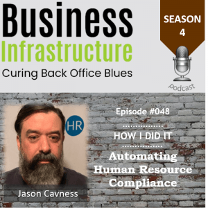 Episode 48: Automating Human Resource Compliance with Jason Cavness