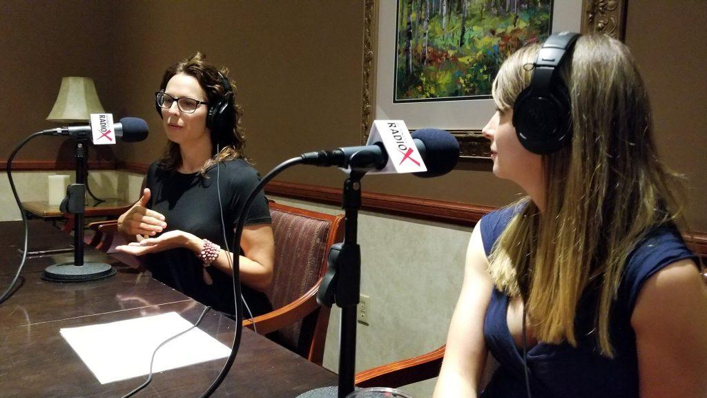 Jen McIntyre and Amelia Warren with Epicure on the Valley Business Radio show on Business RadioX