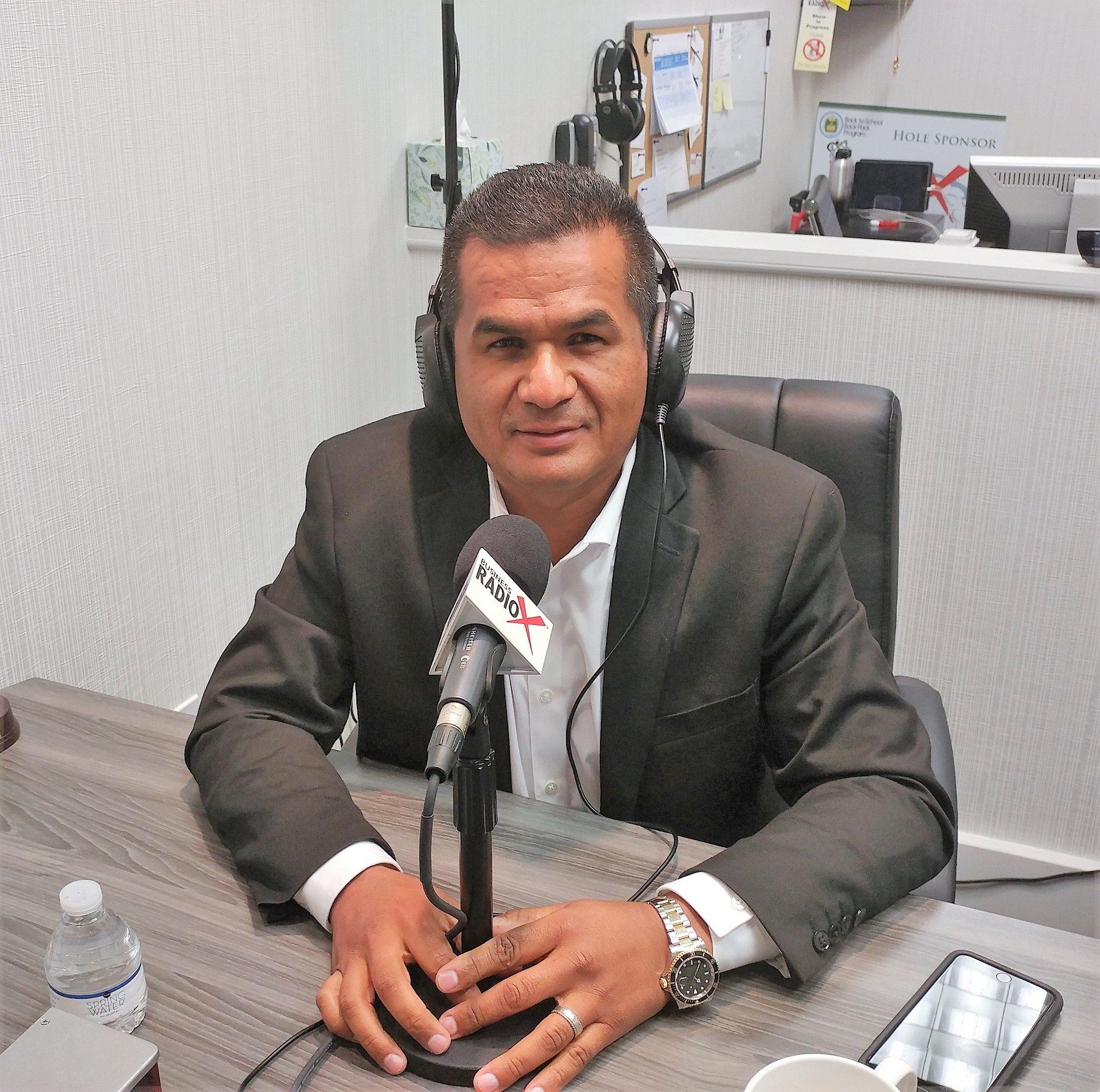 Luciano Lombera With Mc Granite Countertops Business