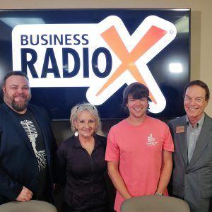 Jenny Westmoreland with I Speak K-9! and Dusty Porter with Porter Media