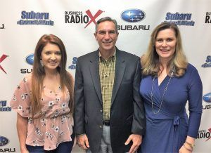 SIMON SAYS, LET'S TALK BUSINESS: Alexandra Radford with The Edge Agency and Joyce Bone with Anxiety-Free Selling