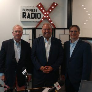 Larry Pless and Bob Sauro with Pless and Sauro, PC and Brian Bullock with Legacy Ventures