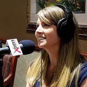 Amelia Warren with Epicure speaking on Valley Business RadioX in Phoenix, Arizona