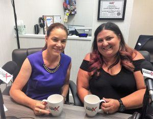 Carla Brown and Kimberly Jones with Canine Pet Rescue