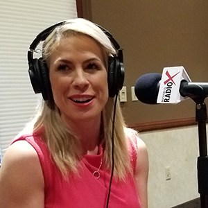 Crystal MacGregor with Epicure speaking on Valley Business RadioX in Phoenix, Arizona