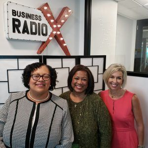 GWBC Radio: Monique Honaman with ISHR Group and Deborah Mackins with Georgia Power and GWBC CEO Roz Lewis