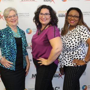 Jackie Wheeler with JackieStyle Image and Branding Nadia Brown with The Doyenne Agency and Jeanette Knudsen with Design for a Life Span