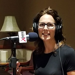 Jen McIntyre with Epicure speaking on Valley Business RadioX in Phoenix, Arizona