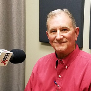 Mike Baize with Insperity in the studio at Valley Business RadioX in Phoenix, Arizona