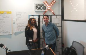 The UnAmerican Dream Author Carlos Hidalgo and Normanie Ricks with Achieve Vision Center