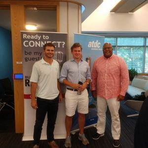 ATDC Radio: Nakia Melecio with iDesign and Conrad Cornell and Drew Williams with Press Sports