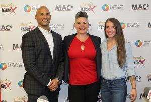 Brooke Walker with 100 Years of Bliss Mycal Anders with Crossfit PHX and Caitlin Barth with Macros and Metcons