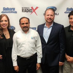 Brady Barron with Sutter, McLellan & Gilbreath and Shan Dholaria with PCPlus Networks