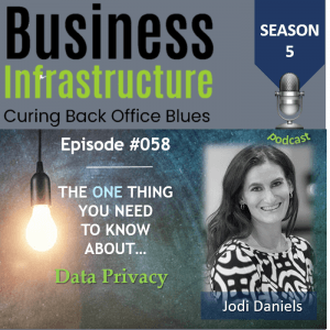 Episode 58: The One Thing You Need to Know About Data Privacy – Jodi Daniels