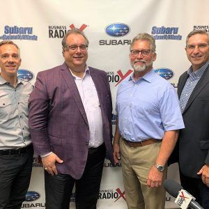 SIMON SAYS, LET'S TALK BUSINESS: Skot Waldron with Skotwaldron.com, Allen Read with M3, and Steve Phillips with Northwest Exterminating
