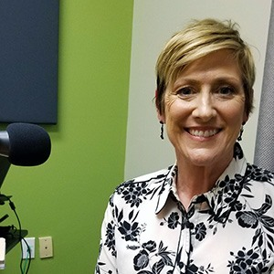 Dr. Tracey Lopeman with Maricopa Unified School District in the studio at Valley Business RadioX in Phoenix, Arizona