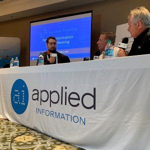 Broadcasting from the 2019 Applied Information Dealer Meeting