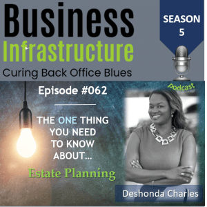 Episode 62: The One Thing You Need to Know About Estate Planning – Deshonda Charles