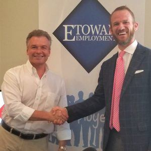 Layton Roberts with Etowah Employment