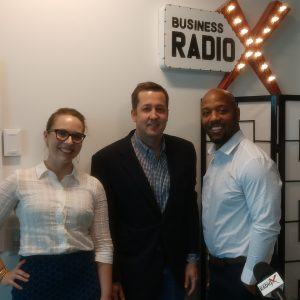 Eddie Davis with FINSYNC, Kristin Pugh with FPA of Georgia and J.R. McNair with The Velocity Company