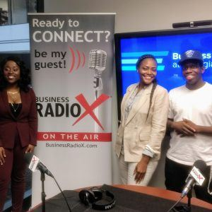 Usama Muta-Ali with Bukhari Tutoring & Health, Ashley Bella Daramola with ArtyBella and Gynella Ngounou with SELF