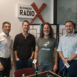 TECH TALK:  John Foshee with MyPorter, Fred McGill with SimpleShowing and Jesse Lindsley with Thrust Interactive