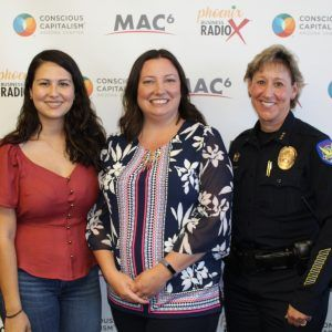3C AMPLIFIED Brenda Puga with Special Olympics Arizona and Mary Roberts with Phoenix Police Department
