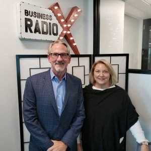 Lori Schutte with Jackson Physician Search and Craig Lemasters with GXG
