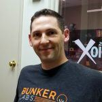 Ben Bronson with Bunker Labs in the studio at Valley Business RadioX in Phoenix, Arizona