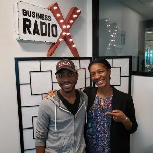 Small Business Fuel: Pharez Roberson with Heavenly Cakes and Telisha Farrow Jackson with SBDC
