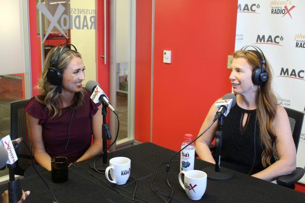 THE-DAY-BEFORE-MONDAY-Shannon-Teixeira-with-Waste-Management-and-Lindsay-Moellenberndt-with-AZ-Biz-Link