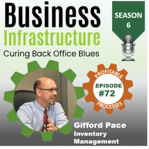 Episode 72: Gifford Pace's Inventory Management Process