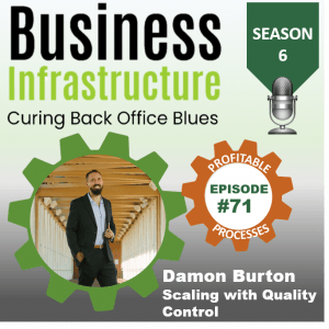 Episode 71: Damon Burton's Scaling with Quality Control Process