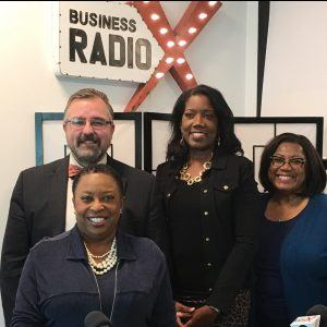 GWBC Radio: Adam Moore and Dr. Lissa J. Miller with SunTrust and Littie Brown with SpeedPro Marietta