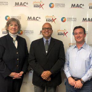 Attorney Diane Drain and Bobby Zavala with University of Dubuque E5
