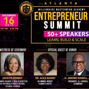 Velocity Small Business Radio: Millionaire Mastermind Academy's Entrepreneur Summit